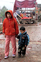 Children - in Xiang Yun Town